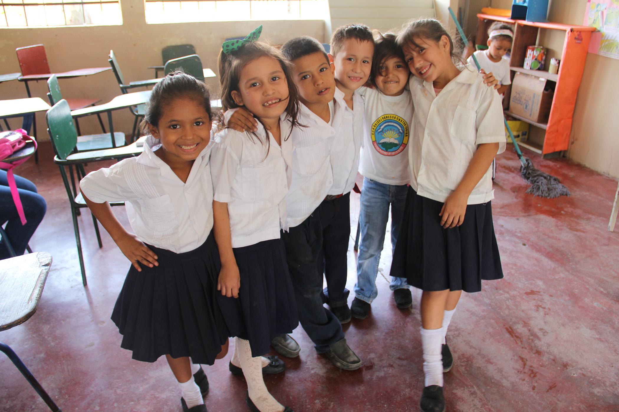 Dental care for Honduran children